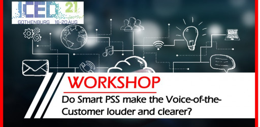 Workshop: Do Smart PSS make the Voice-of-the-Customer louder and clearer?